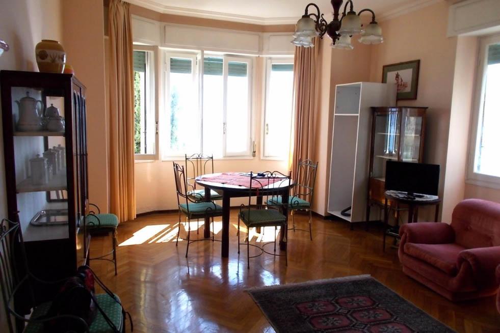 Sanremo vendita appartamento con vista mare frontale e box