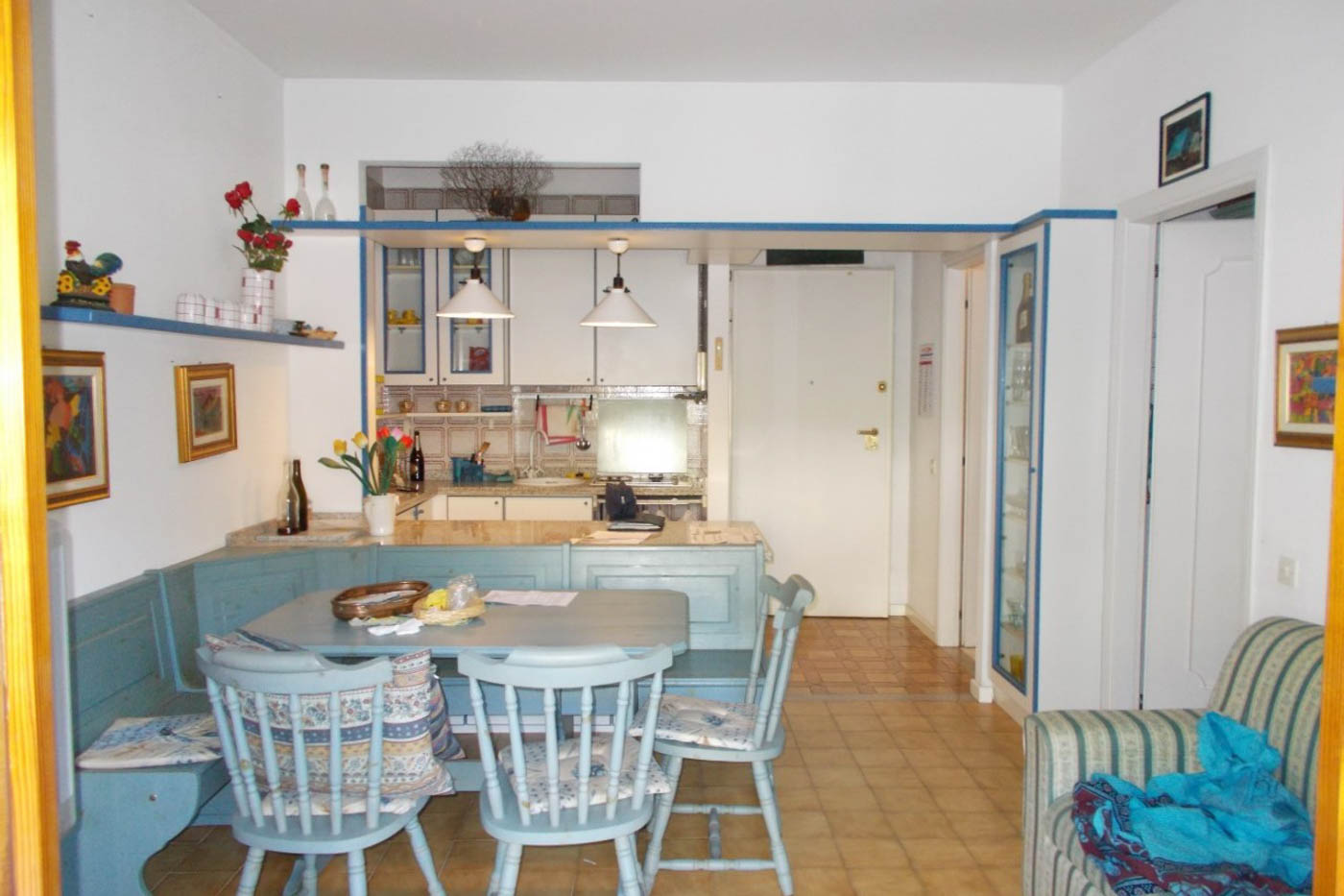 Sanremo: vendita appartamento con vista mare e posto auto