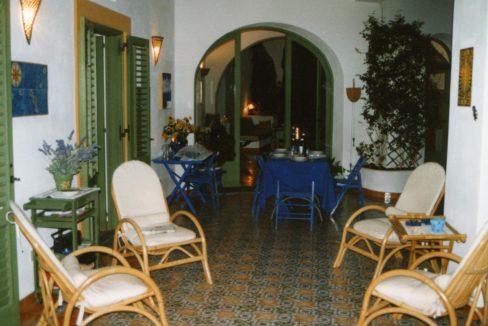 salotto esterno