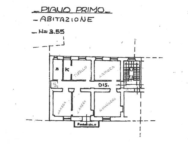 Sanremo, quadrilocale centralissimo di 120 mq, destinato a diversi usi.